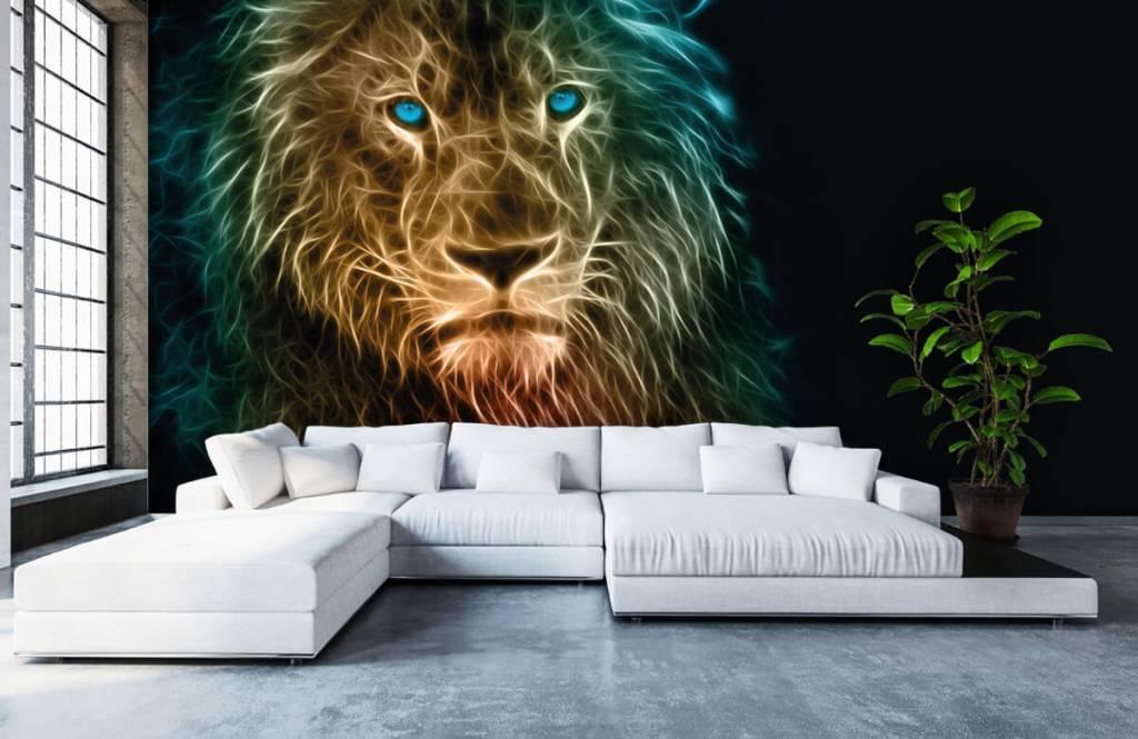 Dieren - Fantasie leeuw - Tienerkamer 6