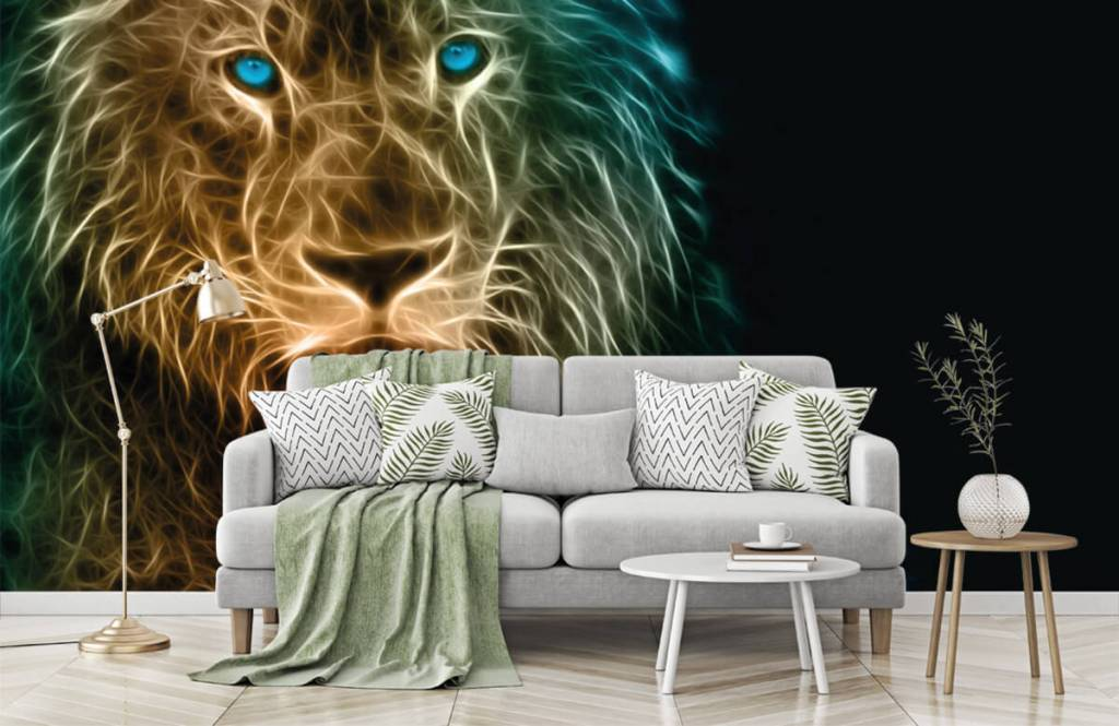 Dieren - Fantasie leeuw - Tienerkamer 7