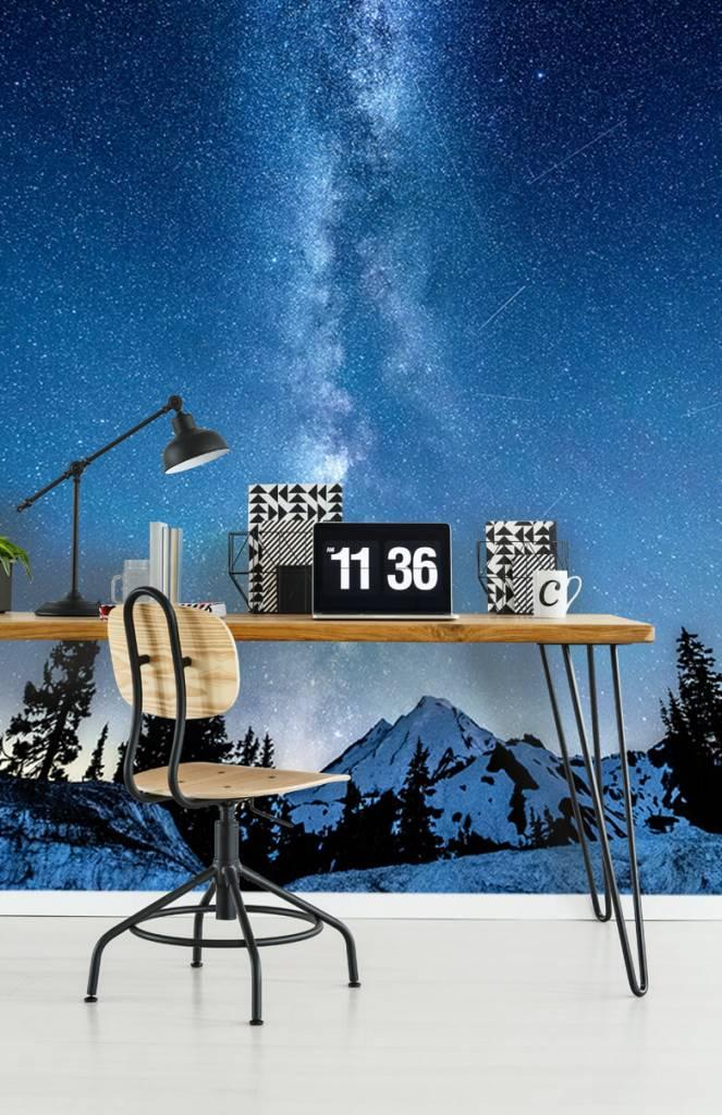 Winter - Foto van de melkweg - Slaapkamer 2