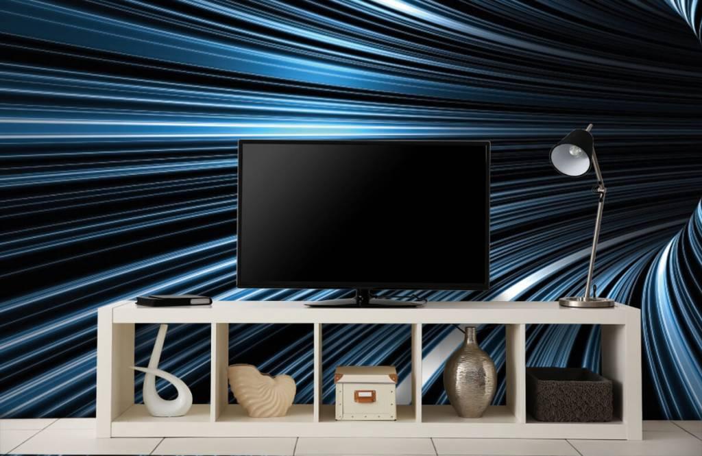 Overige - Futuristische 3D tunnel - Hobbykamer 4