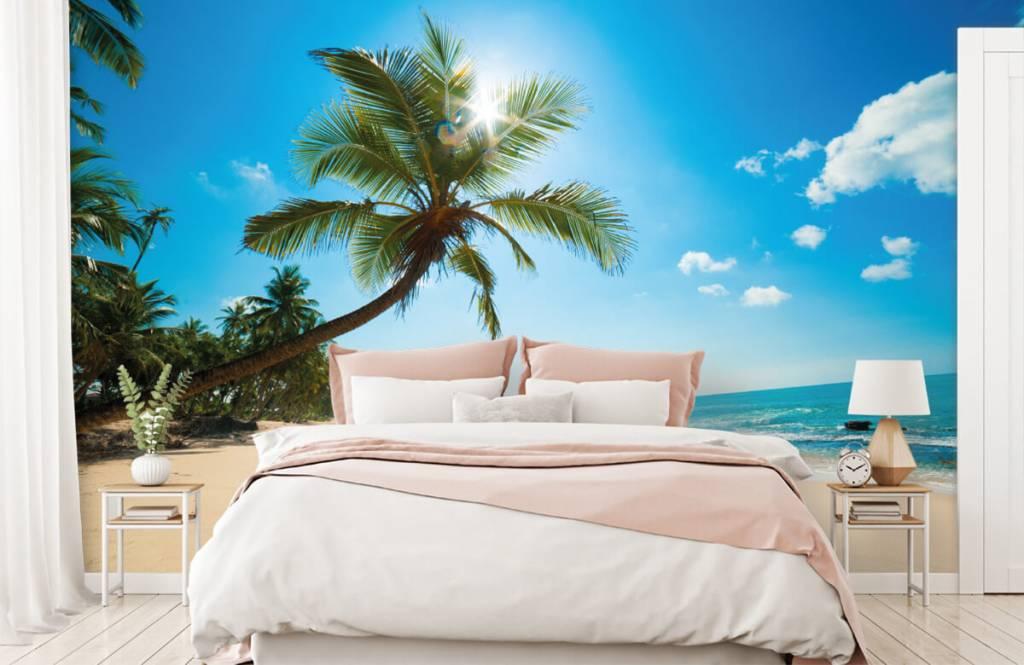 Palmbomen - Grote palmboom - Slaapkamer 2