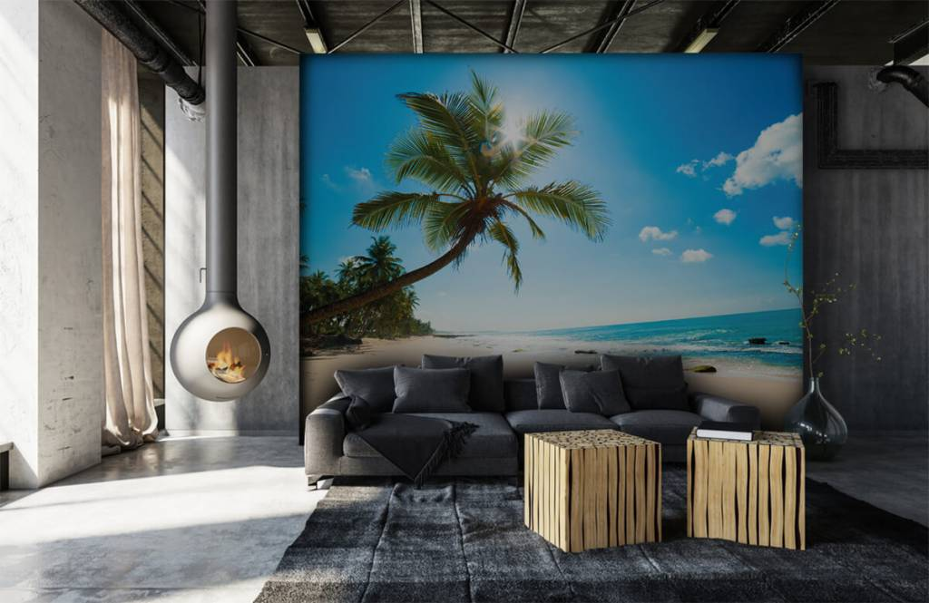 Palmbomen - Grote palmboom - Slaapkamer 6