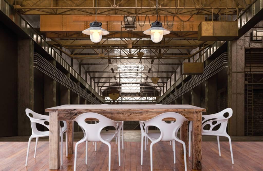 Gebouwen - Industriële verlaten hal - Magazijn 6