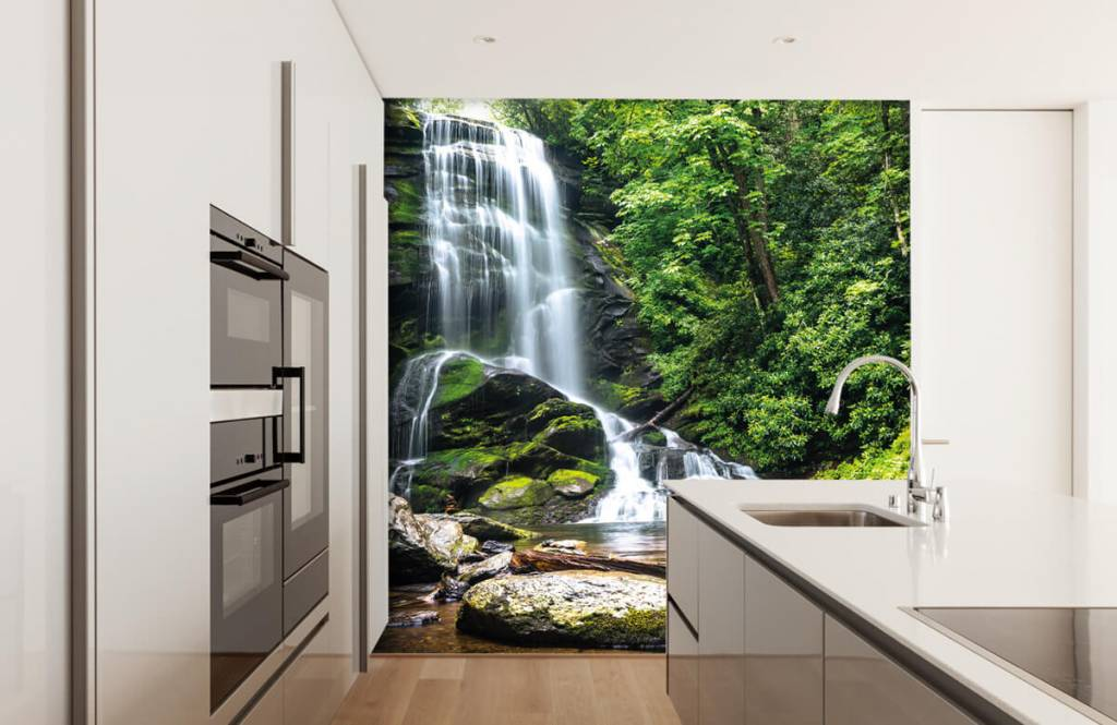 Watervallen - Jungle waterval - Slaapkamer 3