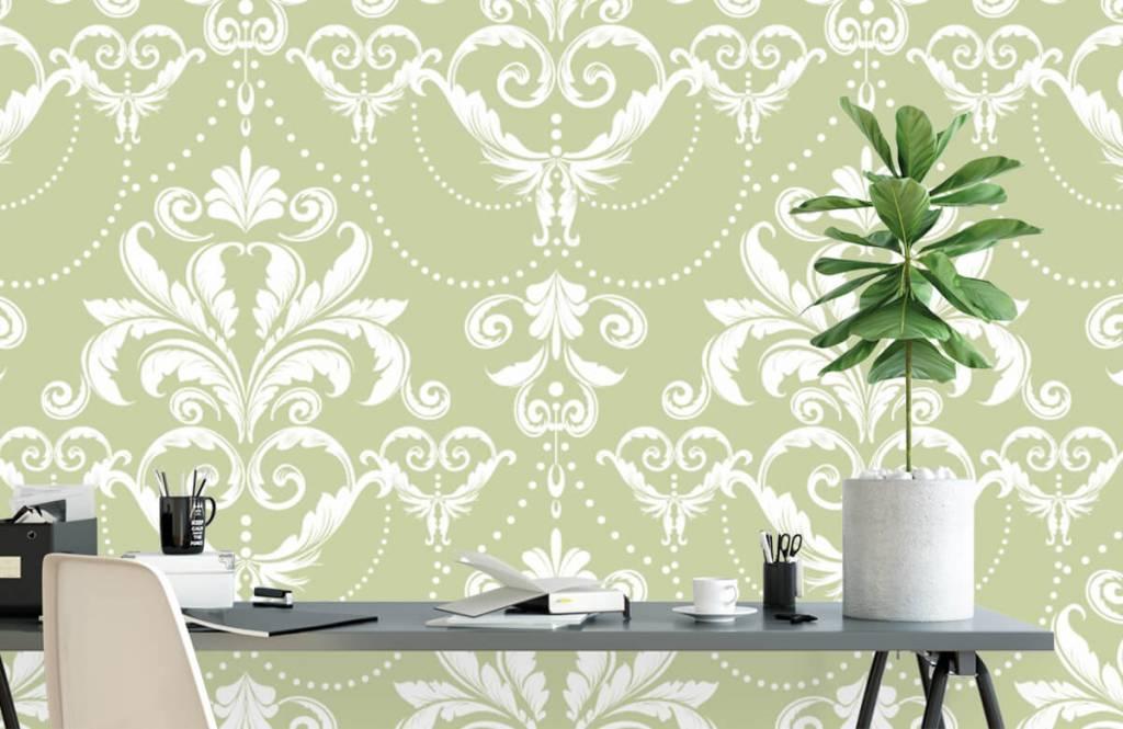 Barok behang - Klassiek patroon - Slaapkamer 1
