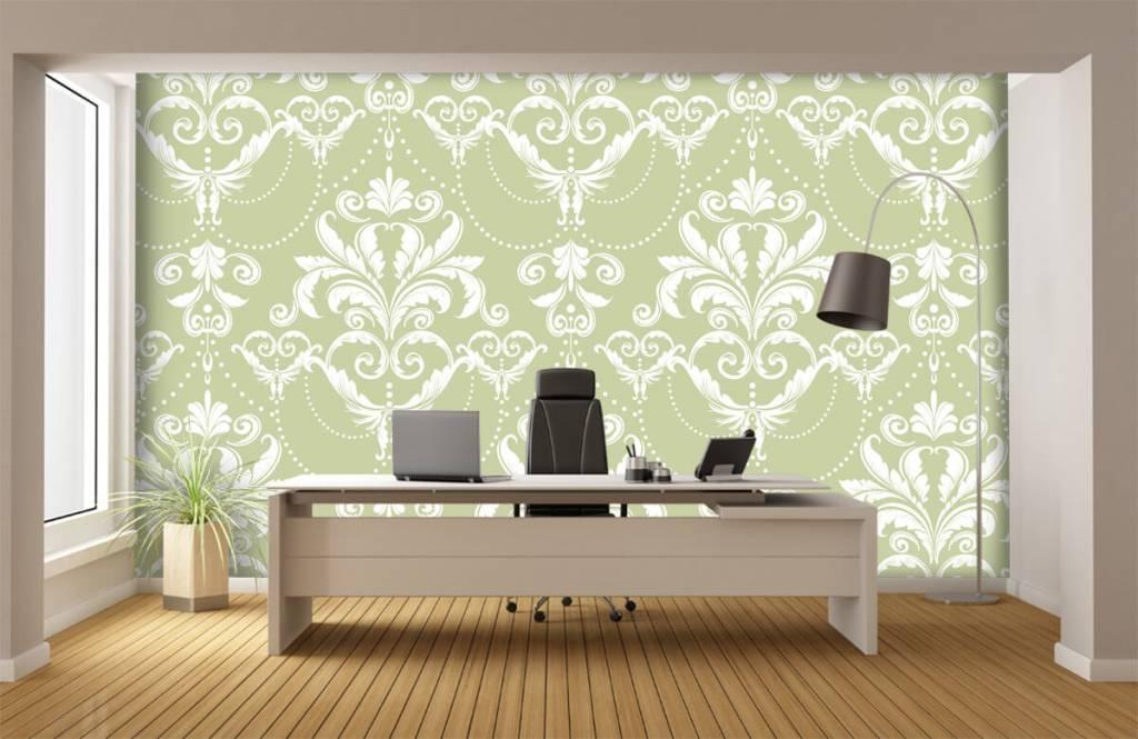 Barok behang - Klassiek patroon - Slaapkamer 3
