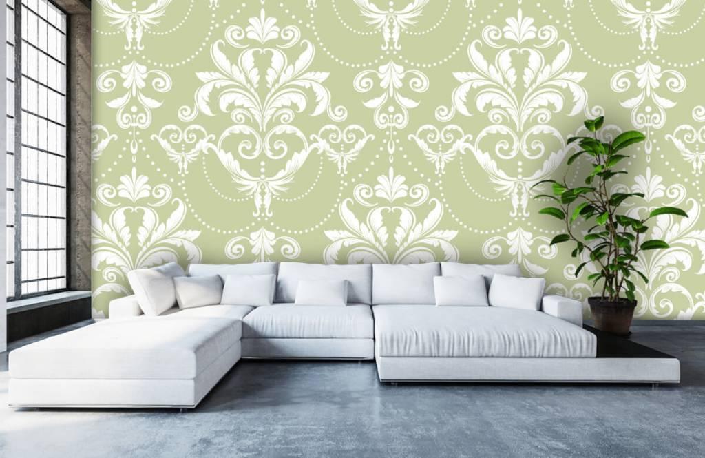 Barok behang - Klassiek patroon - Slaapkamer 5