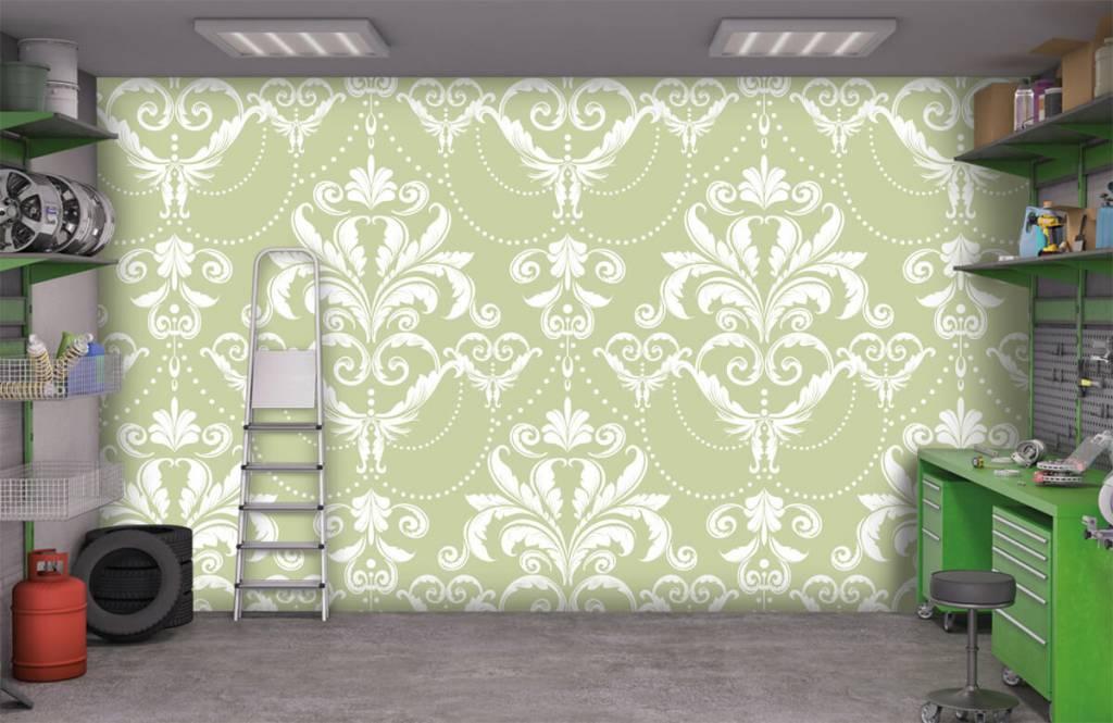 Barok behang - Klassiek patroon - Slaapkamer 9