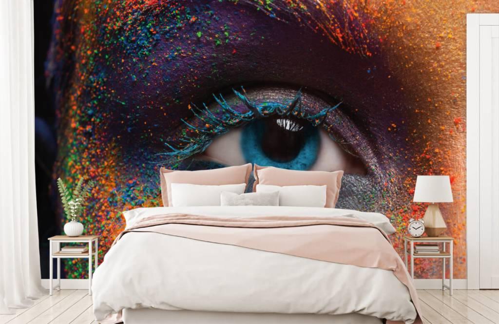 Gezichten & Portret - Kleurrijk oog - Gang 2