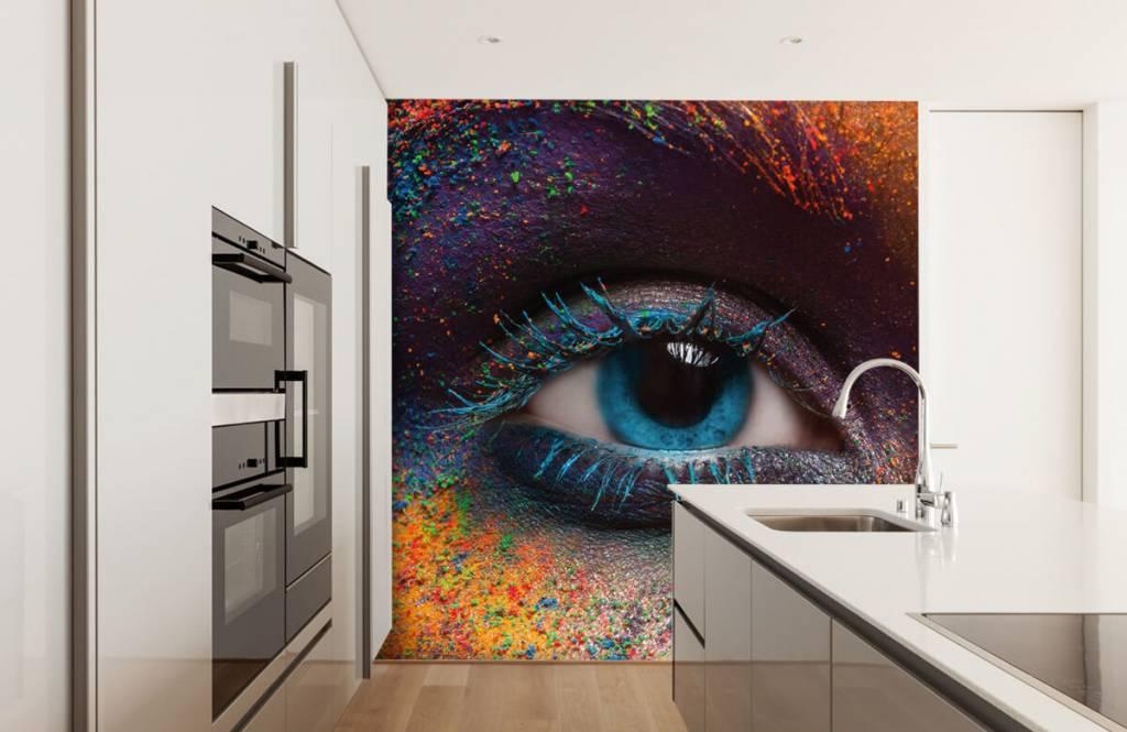 Gezichten & Portret - Kleurrijk oog - Gang 4