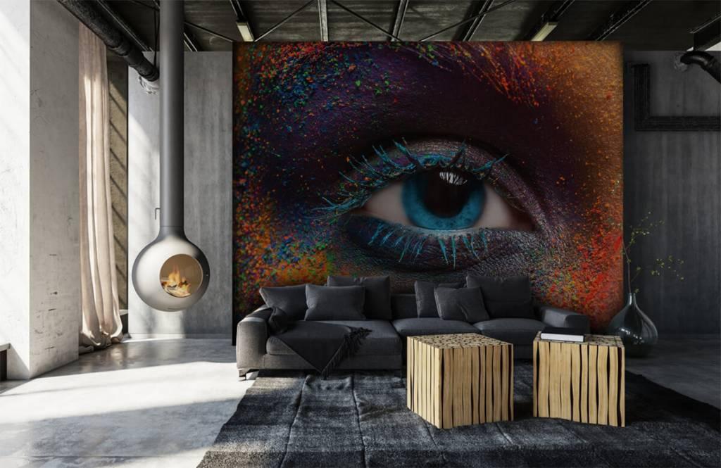 Gezichten & Portret - Kleurrijk oog - Gang 6