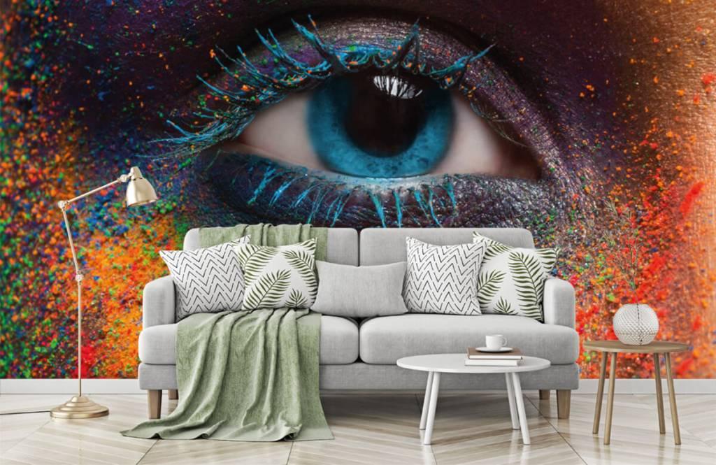 Gezichten & Portret - Kleurrijk oog - Gang 7