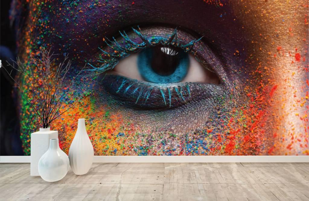 Gezichten & Portret - Kleurrijk oog - Gang 8