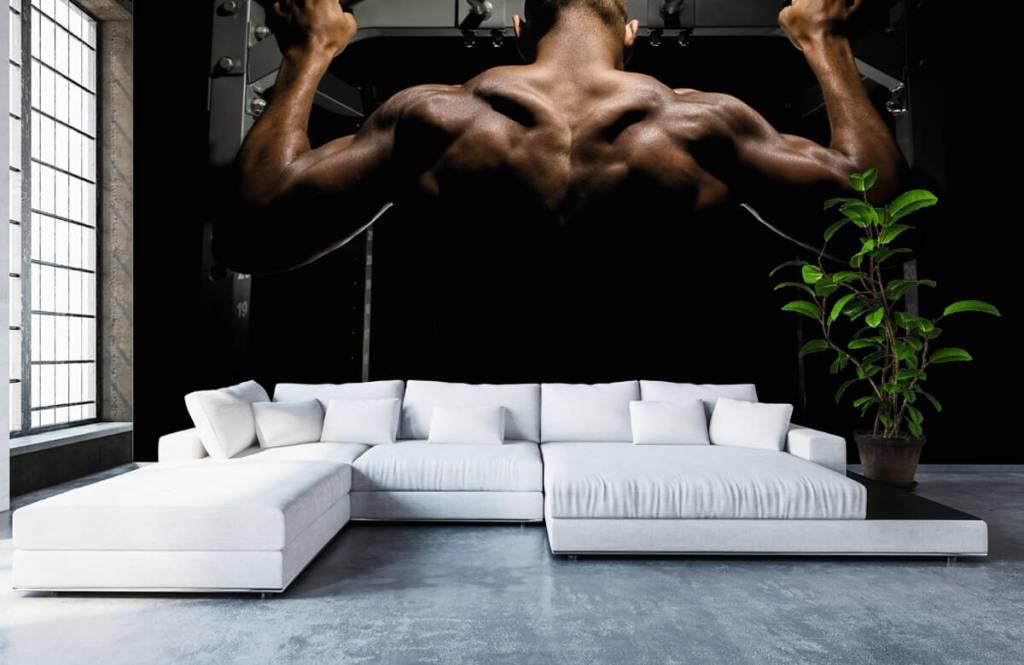 Fitness - Man met een gespierde rug - Garage 6
