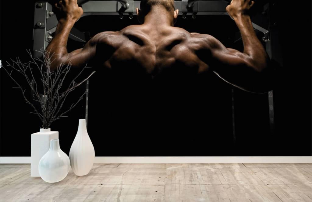 Fitness - Man met een gespierde rug - Garage 7