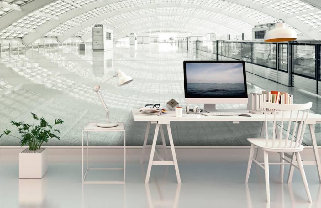 Gebouwen - Moderne hal met ronding - Hal 2