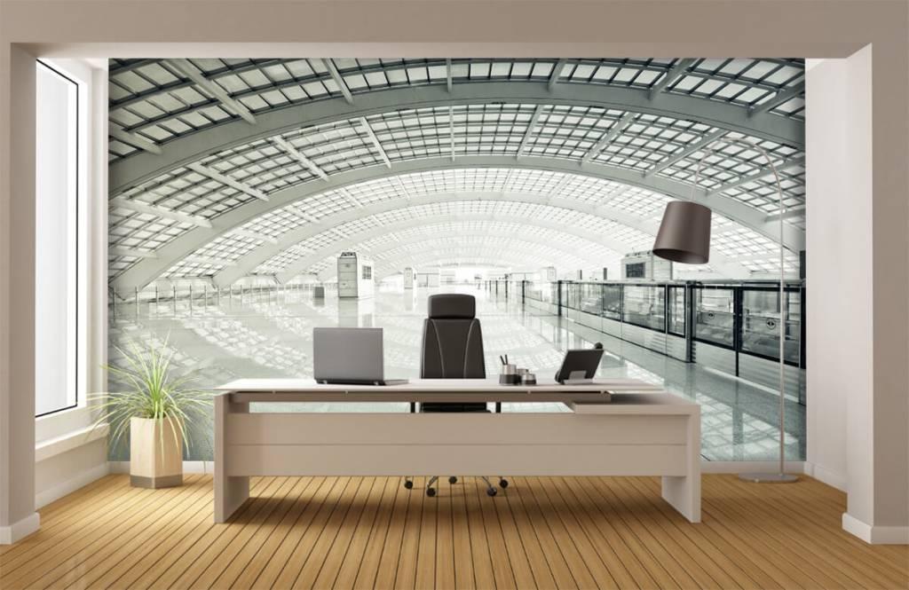 Gebouwen - Moderne hal met ronding - Hal 3