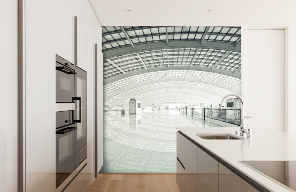 Gebouwen - Moderne hal met ronding - Hal 4