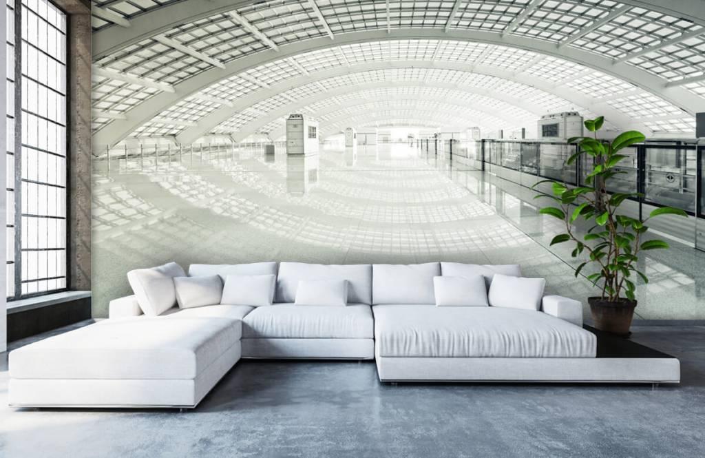 Gebouwen - Moderne hal met ronding - Hal 5