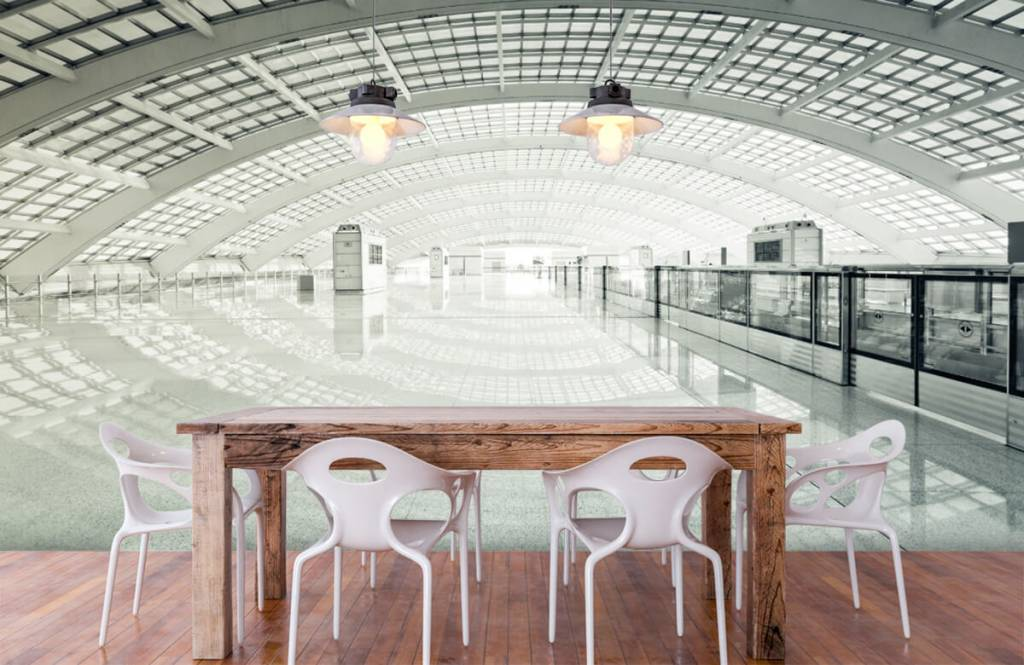 Gebouwen - Moderne hal met ronding - Hal 6