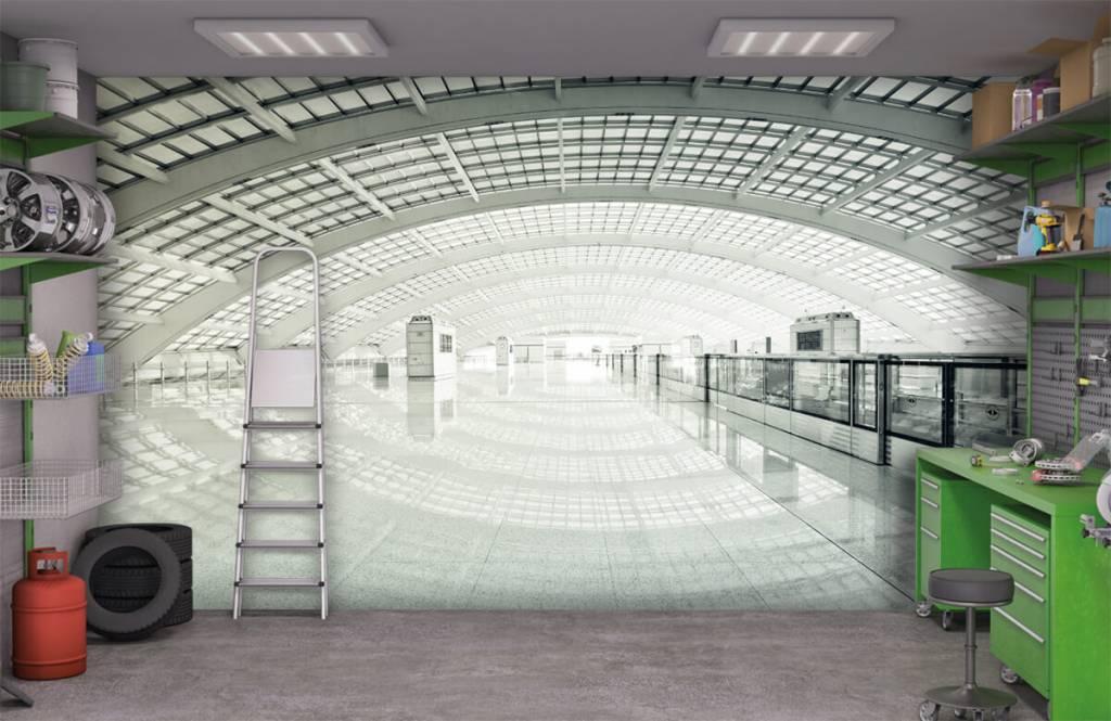 Gebouwen - Moderne hal met ronding - Hal 9