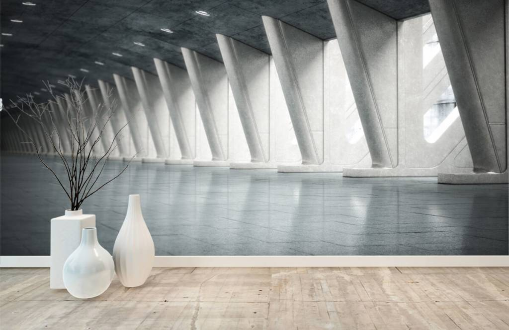Gebouwen - Moderne hal - Kantoor 1
