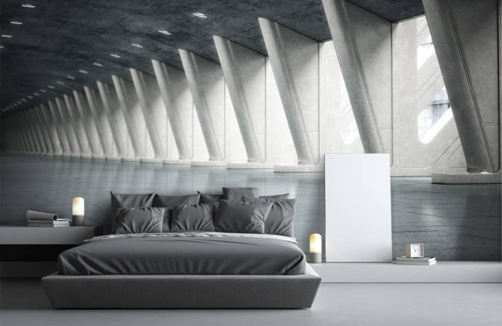 Gebouwen - Moderne hal - Kantoor 3