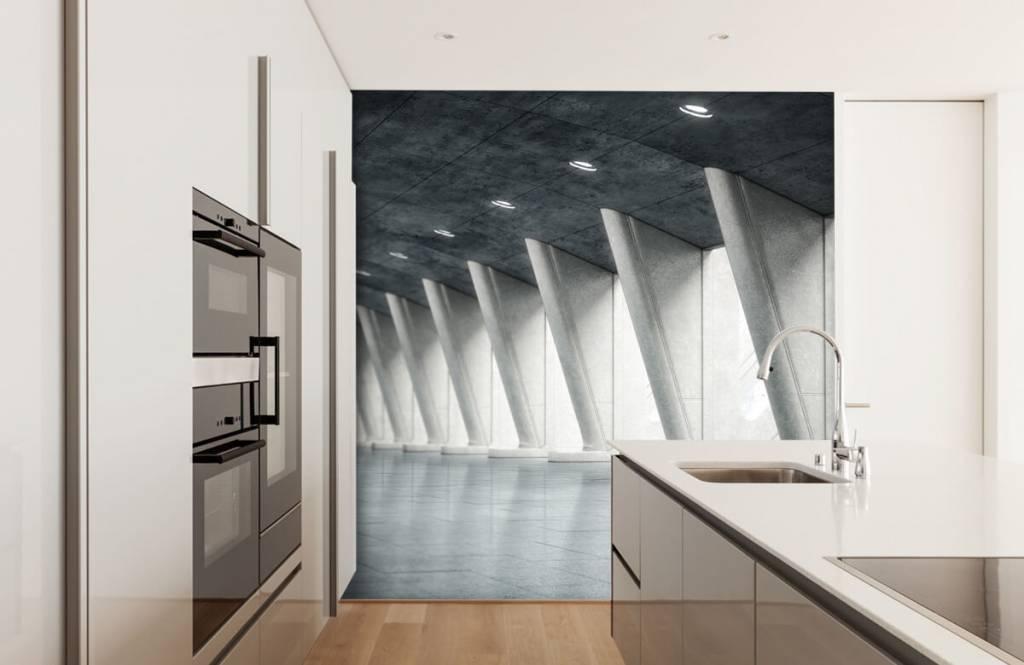 Gebouwen - Moderne hal - Kantoor 4