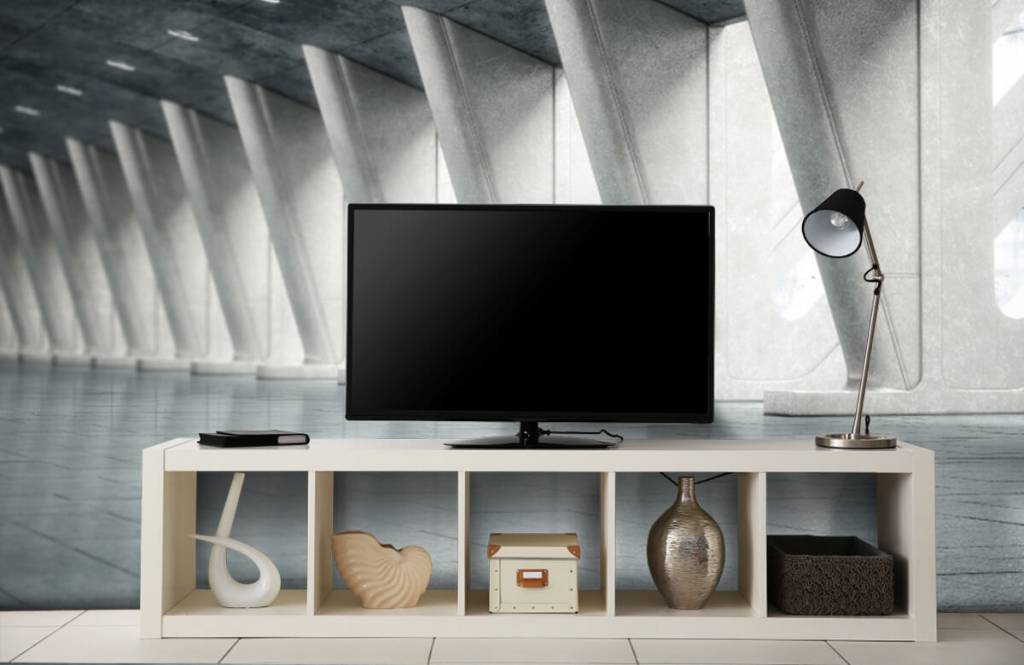 Gebouwen - Moderne hal - Kantoor 5
