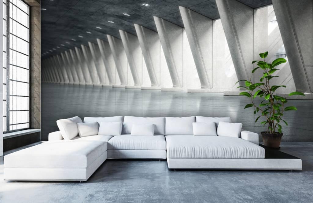 Gebouwen - Moderne hal - Kantoor 6