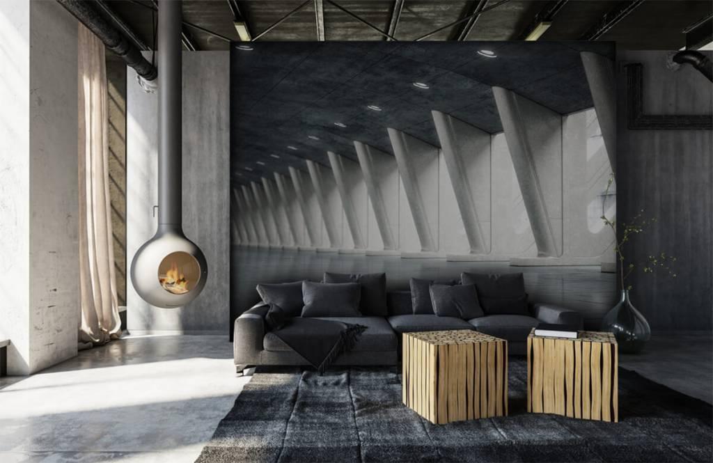 Gebouwen - Moderne hal - Kantoor 7