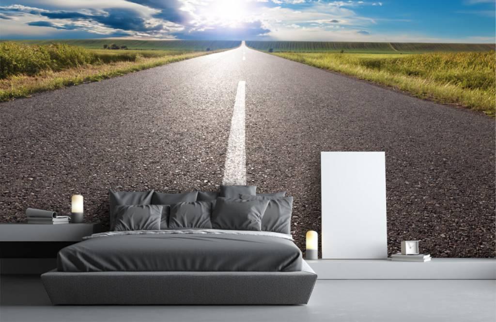 Wegen & Straten - Oneindige weg - Slaapkamer 1