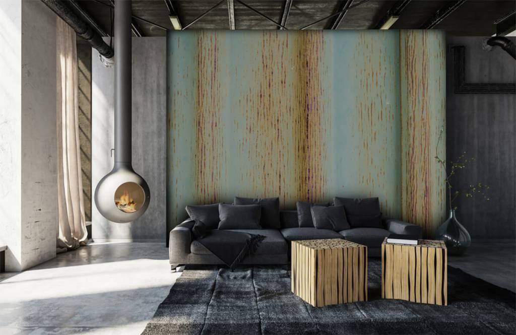 Elementen - Oude zink muur - Garage 7