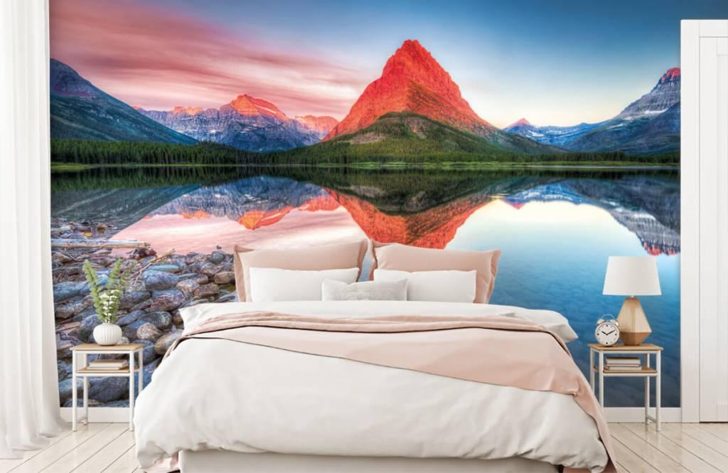 Meertjes en Wateren - Rode bergtop - Gang 2