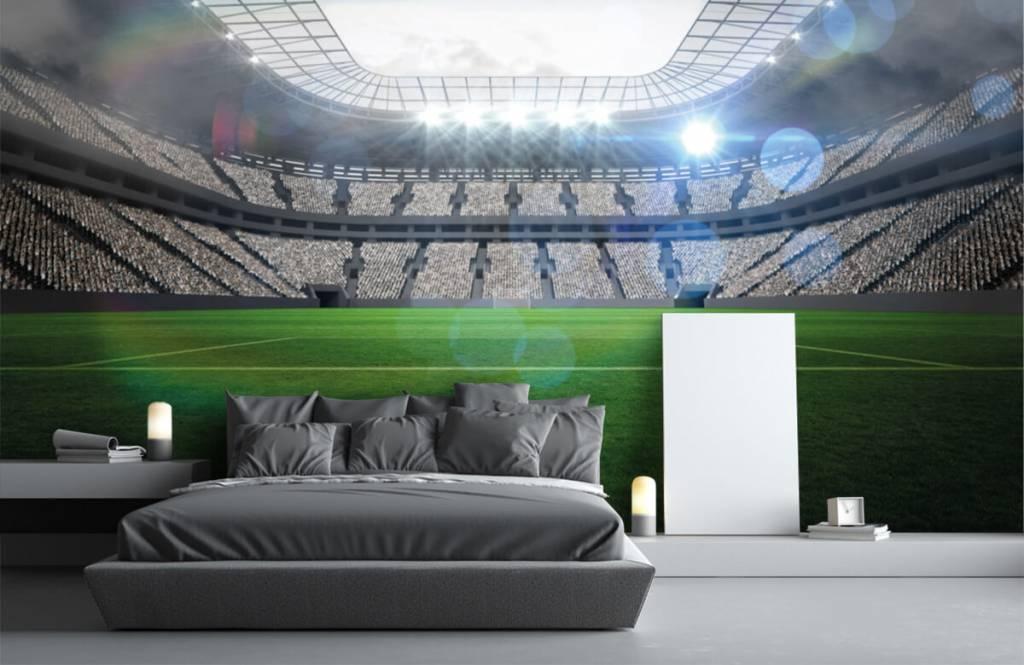 Stadions - Stadion met een open dak - Kinderkamer 2