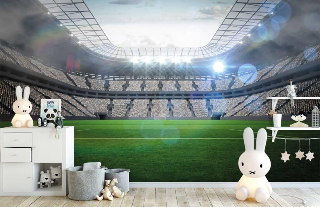 Stadions - Stadion met een open dak - Kinderkamer 4
