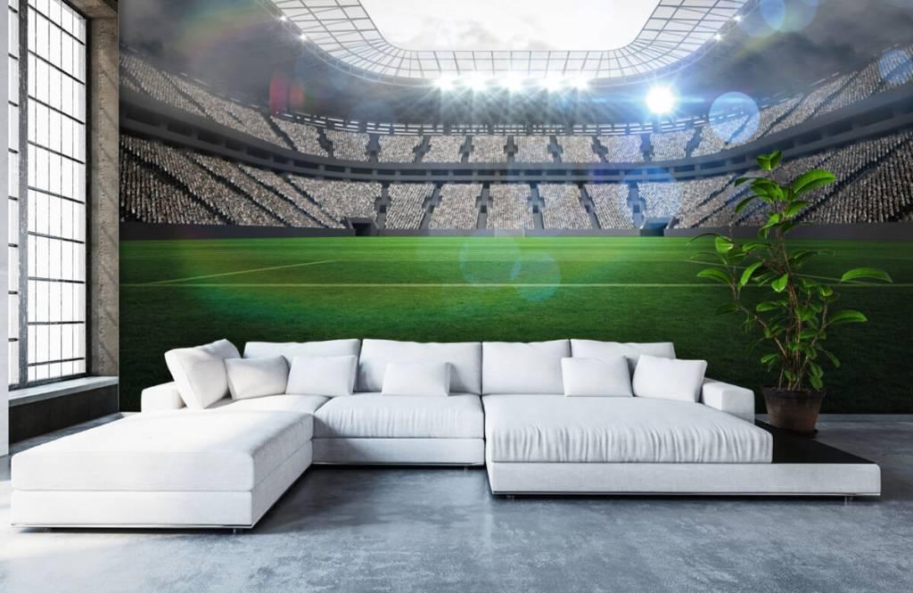 Stadions - Stadion met een open dak - Kinderkamer 6