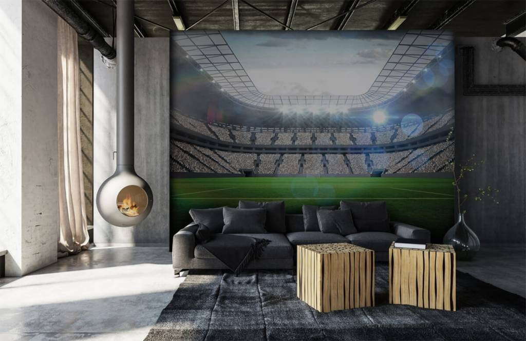 Stadions - Stadion met een open dak - Kinderkamer 7