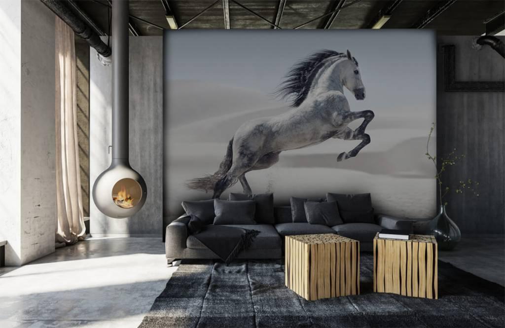 Paarden - Steigerend paard - Kinderkamer 1