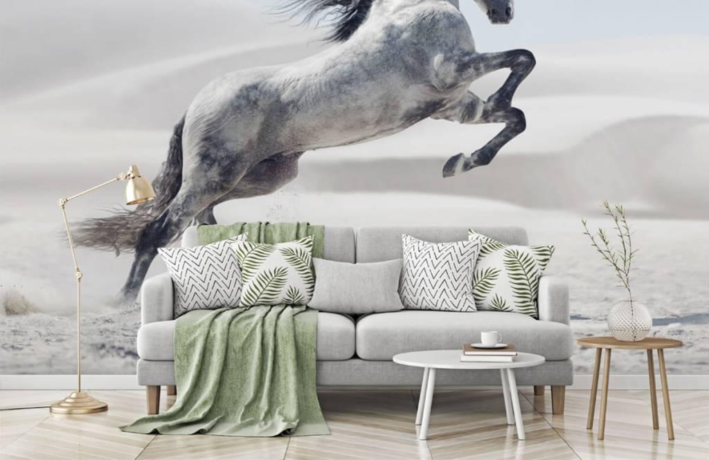 Paarden - Steigerend paard - Kinderkamer 8