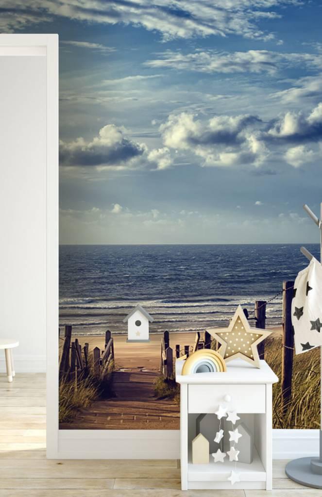Stranden - Strand en wolken - Gang 3