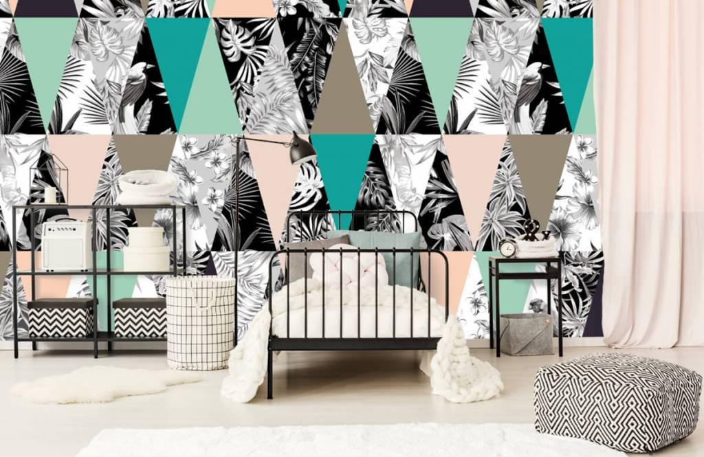 Overige - Tropisch patroon - Kinderkamer 1