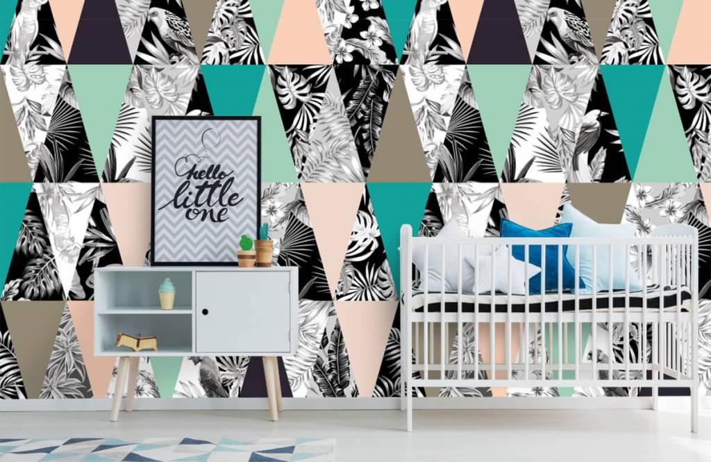 Overige - Tropisch patroon - Kinderkamer 6