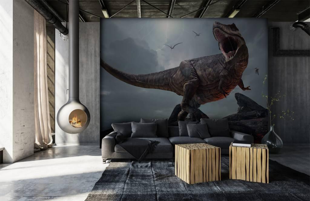 Dinosaurussen - Tyrannosaurus Rex - Kinderkamer 1