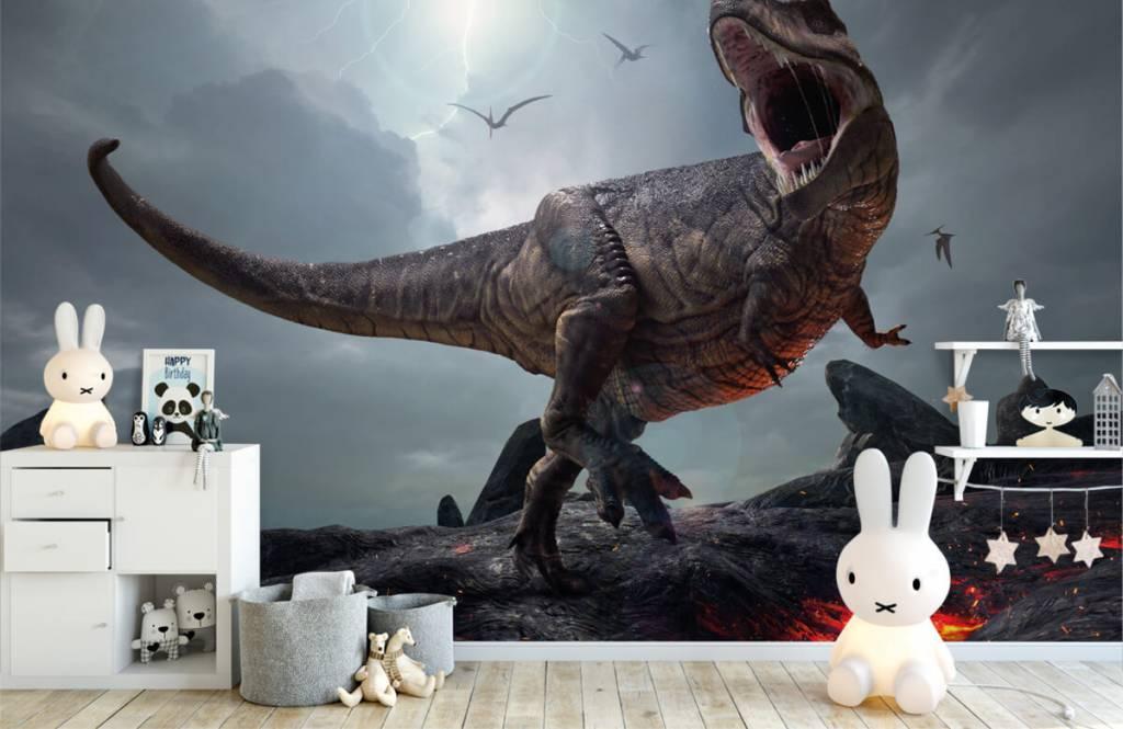 Dinosaurussen - Tyrannosaurus Rex - Kinderkamer 2