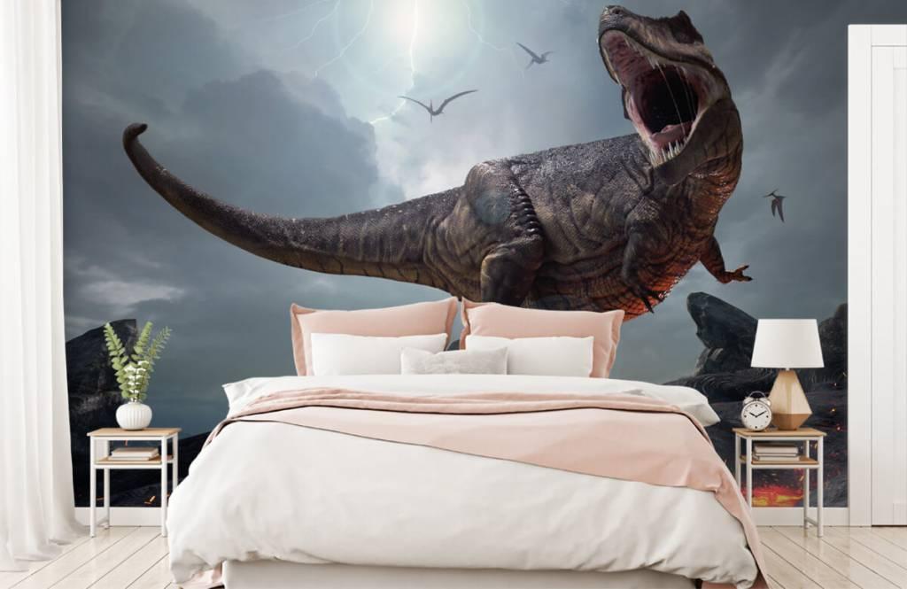 Dinosaurussen - Tyrannosaurus Rex - Kinderkamer 3
