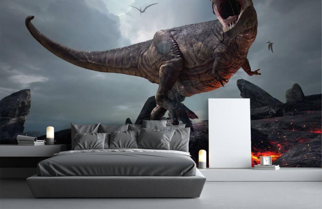 Dinosaurussen - Tyrannosaurus Rex - Kinderkamer 4