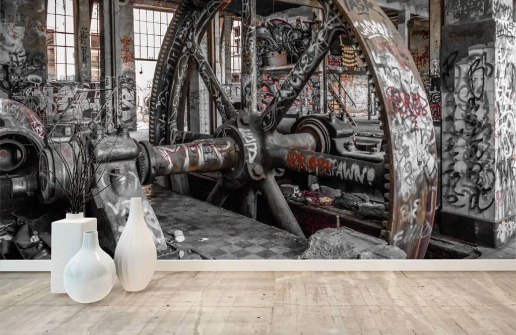 Architectuur - Verlaten fabriek - Tienerkamer 1