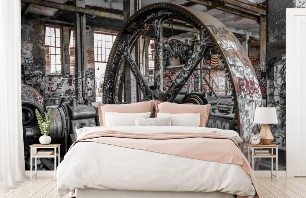 Architectuur - Verlaten fabriek - Tienerkamer 2