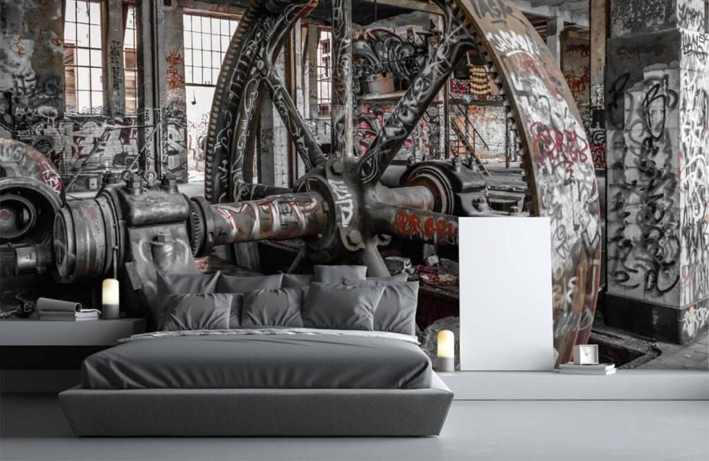 Architectuur - Verlaten fabriek - Tienerkamer 3
